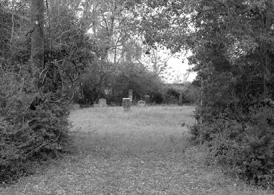 The Hanson family cemetery is located at Hanson and San Jacinto streets. The entrance is on San Jacinto Street. Photo: Submitted Photo