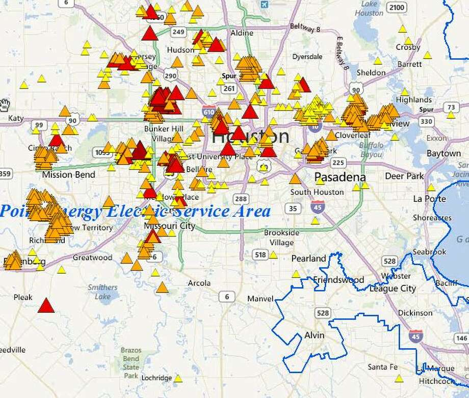Check for power outages in the Houston area   Houston Chronicle