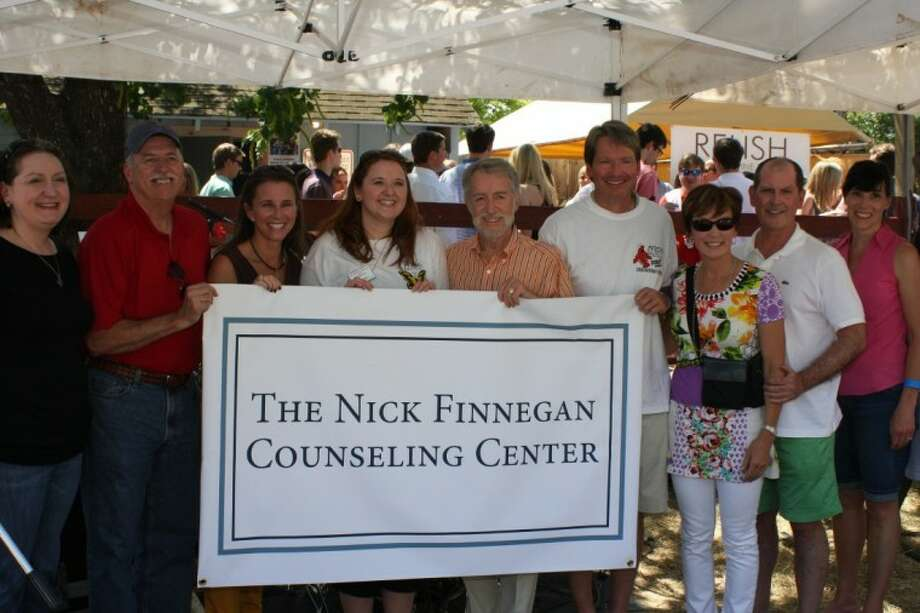 At Sunday's inaugural Nick Finnegan Ministry Crawfish Boil, the St. Luke's Center for Counseling and Life Enrichment announced its new name: The Nick Finnegan Counseling Center.