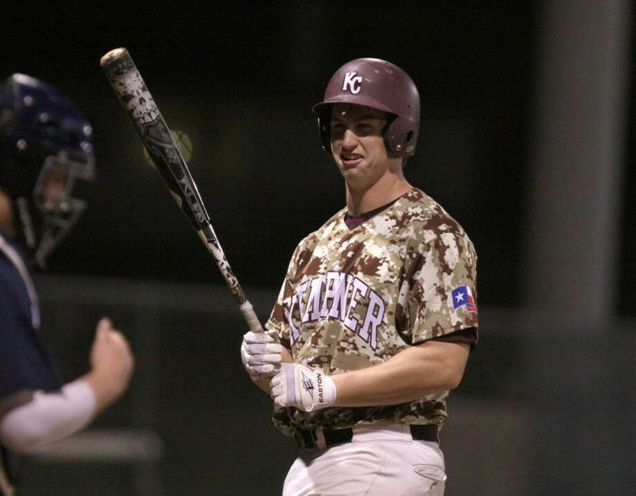 Kempner's Dom Taccolinileads his team with a .518 on-base percentage this season.(Photo by Alan Warren) Photo: Photo By Alan Warren