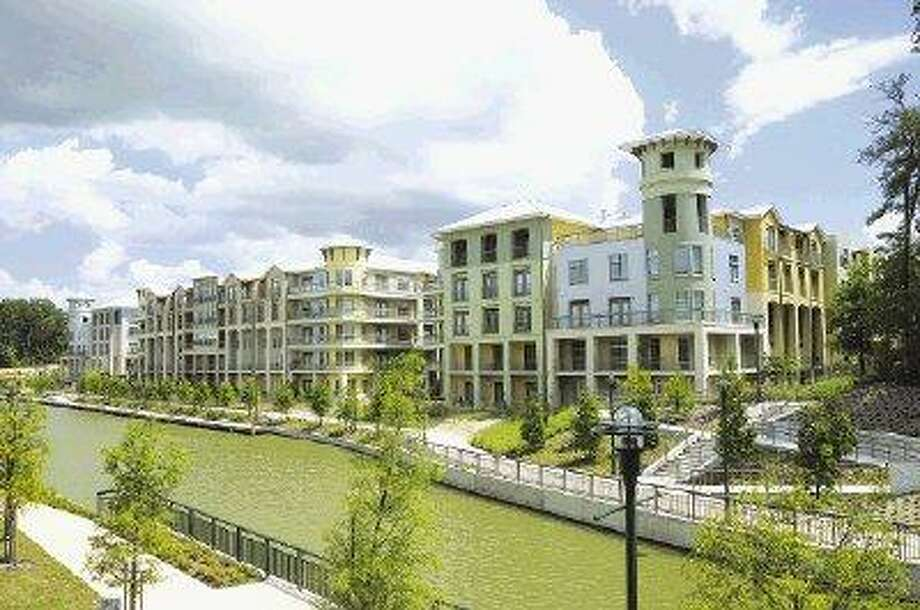 Boardwalk at Town Center, a 450-home multifamily community situated along The Woodlands Waterway®, recently received the '08 Best Rental Development Up to Four Stories, a national award, at the 25th Annual Best in American Living Award design competition at the Wynn Hotel in Las Vegas.