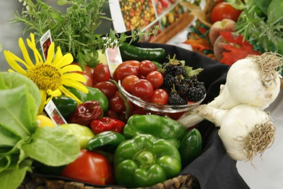 The tables at the Kingwood Garden Center were filled with cacophony of different vegetables especially tomatoes during their second annual tomato and vegetable contest June 8, 2013.