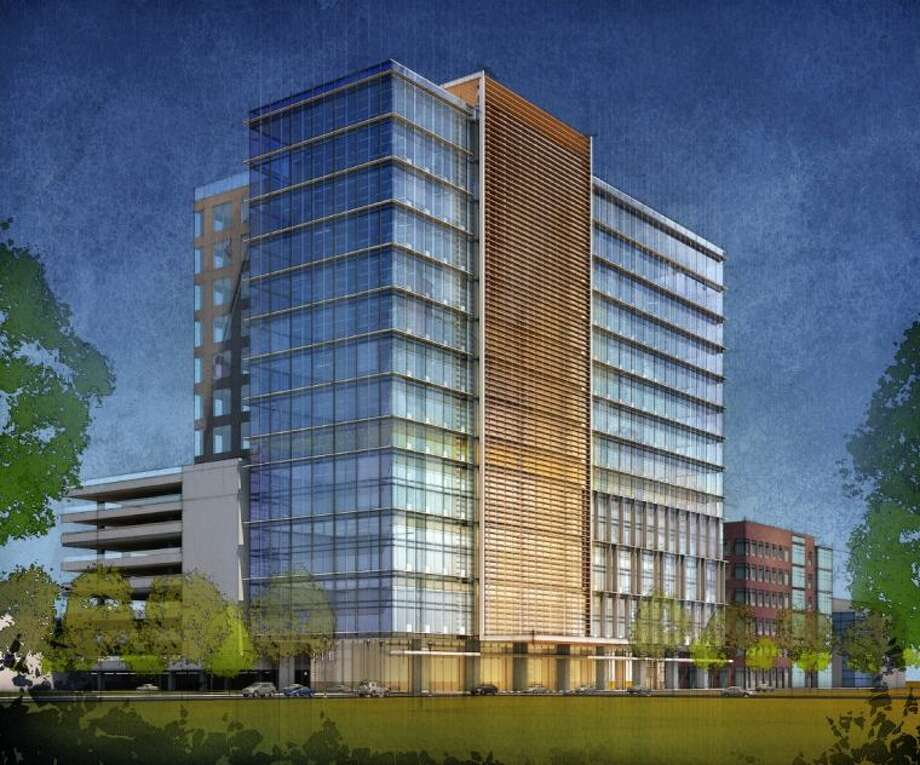Rendering of CityCentre Five, scheduled to break ground this fall. Photo: Submitted