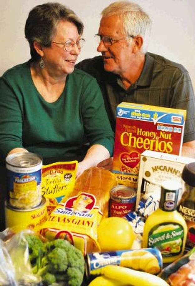 Sharon and Bill Van Der Vlist have launched a personal shopping service to keep refrigerators stocked for area residents.