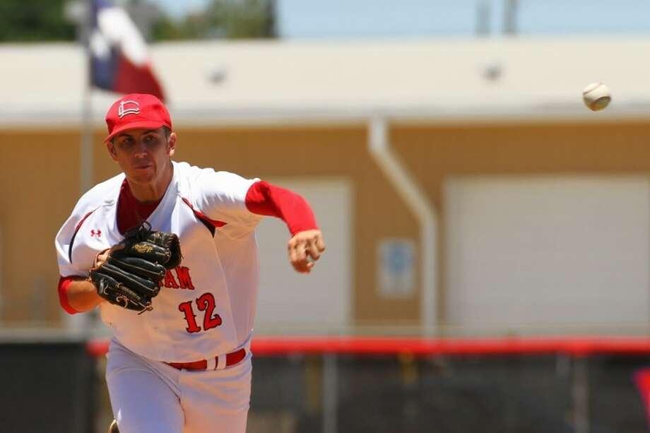 Langham Creek ace Hayden Jones is 17-5A's MVP once again after another stellar season. Photo: KJWESPHOTOS.com