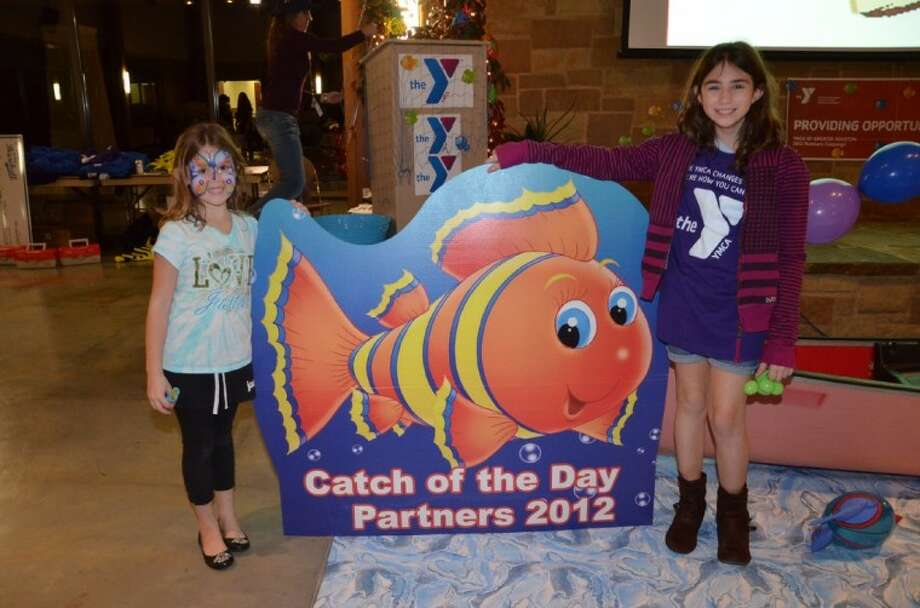 Grace and Ava Graff helped the South Montgomery County YMCA kicked off its annual Partners Campaign earlier this month to help raise funds that will provide financial assistance to thousands local youth, teen, families and seniors.