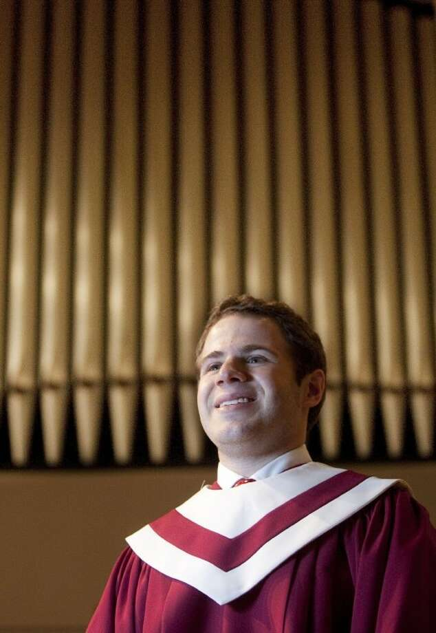 John Tidmore is the new head organist at The Woodlands First United Methodist Church. Photo: Karl Anderson