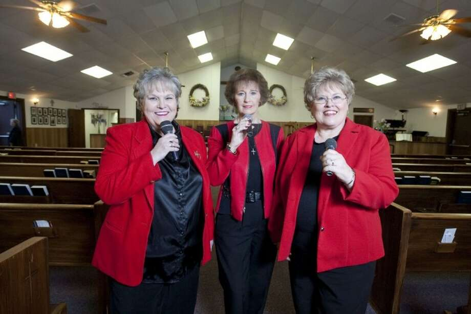 Carol Philips, Vickie Potter and Pat Chapman are the Just For Him Ladies Gospel Trio. Photo: Karl Anderson
