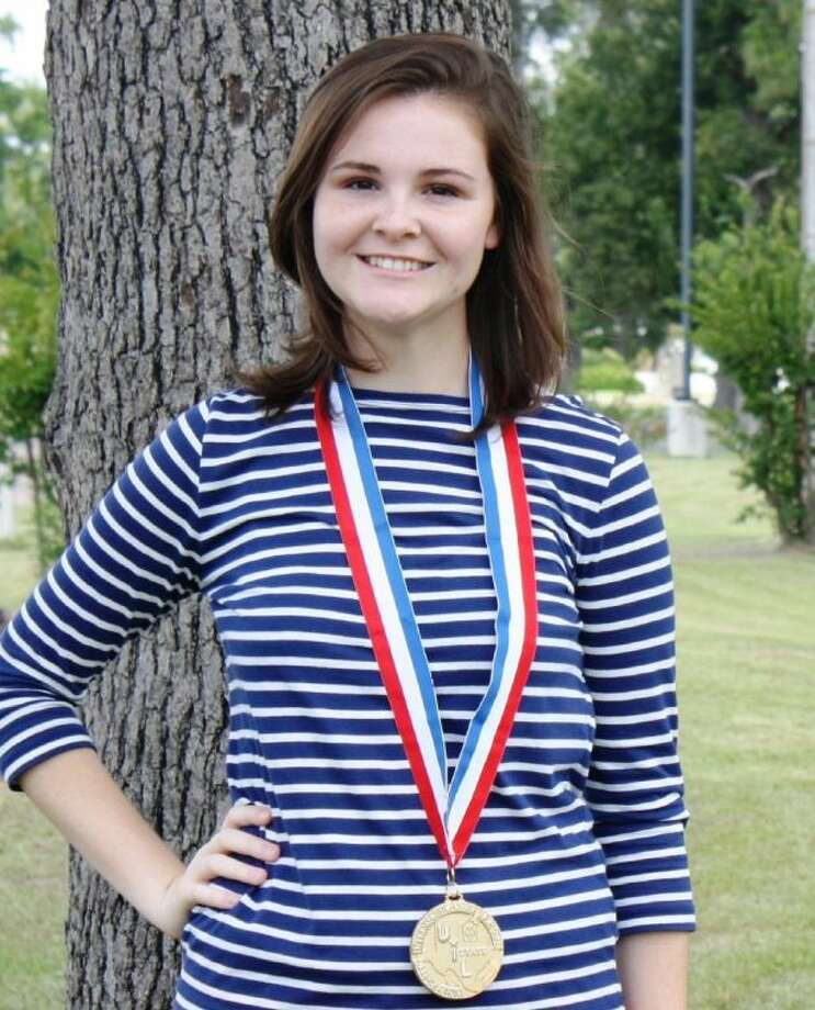 """Sara White earned the Outstanding Soloist award at the UIL State Solo and Ensemble competition with her rendition of """"Carnival of Venice."""" Photo: RACHEL HALL"""