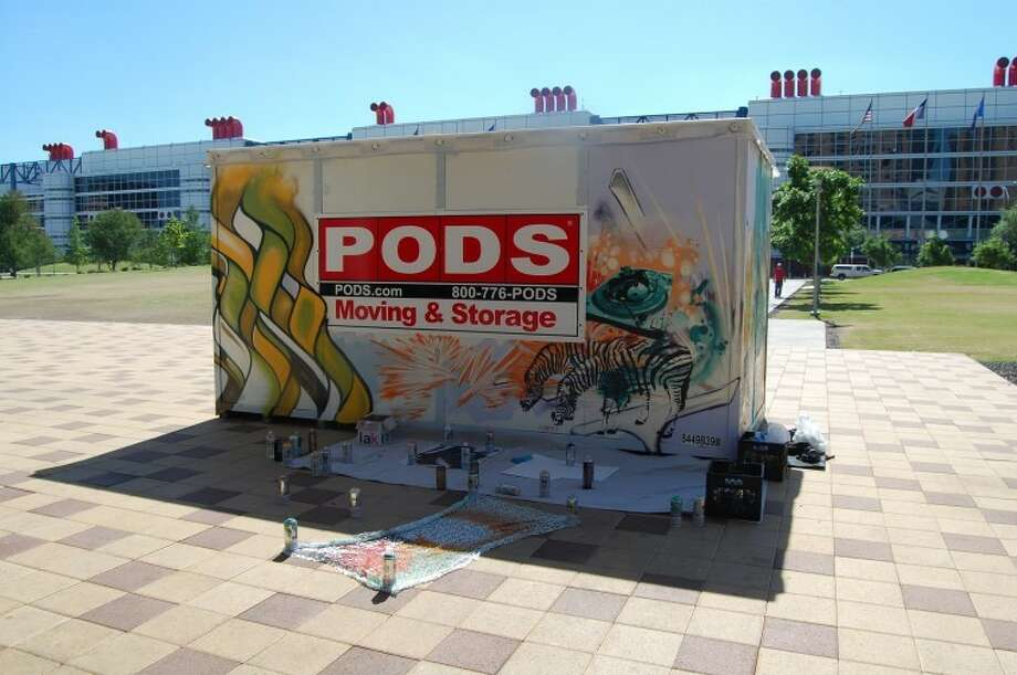 The Portable On Demand Project has an opening with the artists on May 19 in Discovery Green.