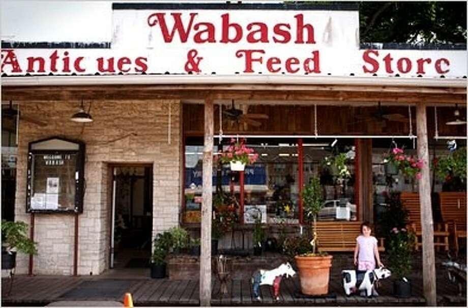 Photo: WABASH ANTIQUES & FEED