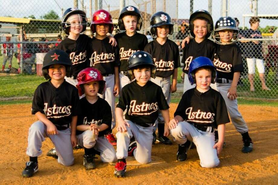The Deer Park Youth Baseball Association 5U Astros have banded together to help those affected by this horrific tragedy. Deer Park residents and parents of players on the 5U Astros, Ron Martin and Tonya Grochett are spearheading efforts to collect items and gift cards. Photo: SUBMITTED PHOTO