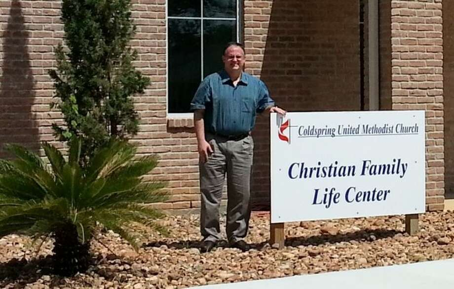 Reverend David Green is pleased to be able to open the new Christian Family Life Center at Coldspring United Methodist Church. Green has been the preacher at CUMC for the last four years. Photo: Submitted Photo