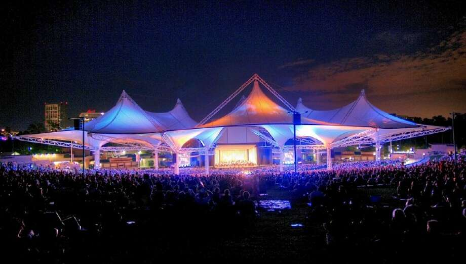 The Cynthia Woods Mitchell Pavilion is one of the top outdoor concert venues in America.
