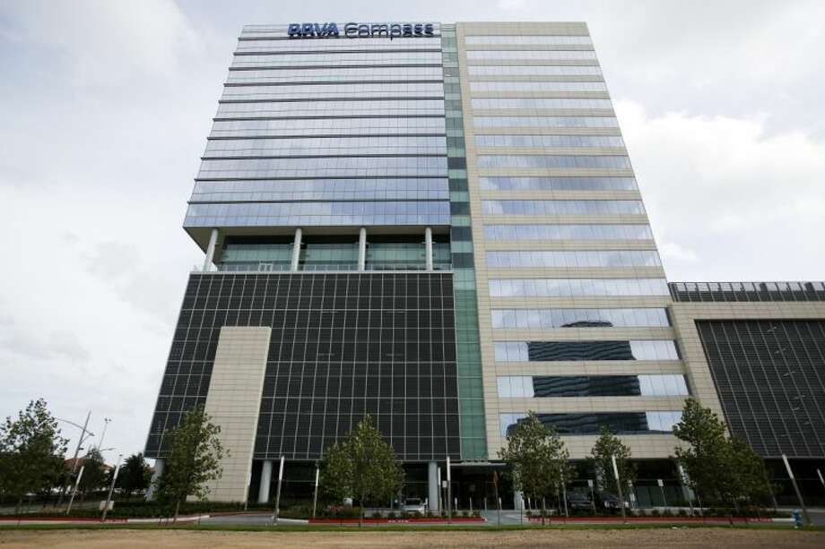 BBVA Chairman and CEO Francisco González last week officially opened BBVA Compass Plaza, the first tower to go up in the Galleria area in 30 years. BBVA Compass Plaza is located at 2200 Post Oak Blvd. Photo: Eric Kayne