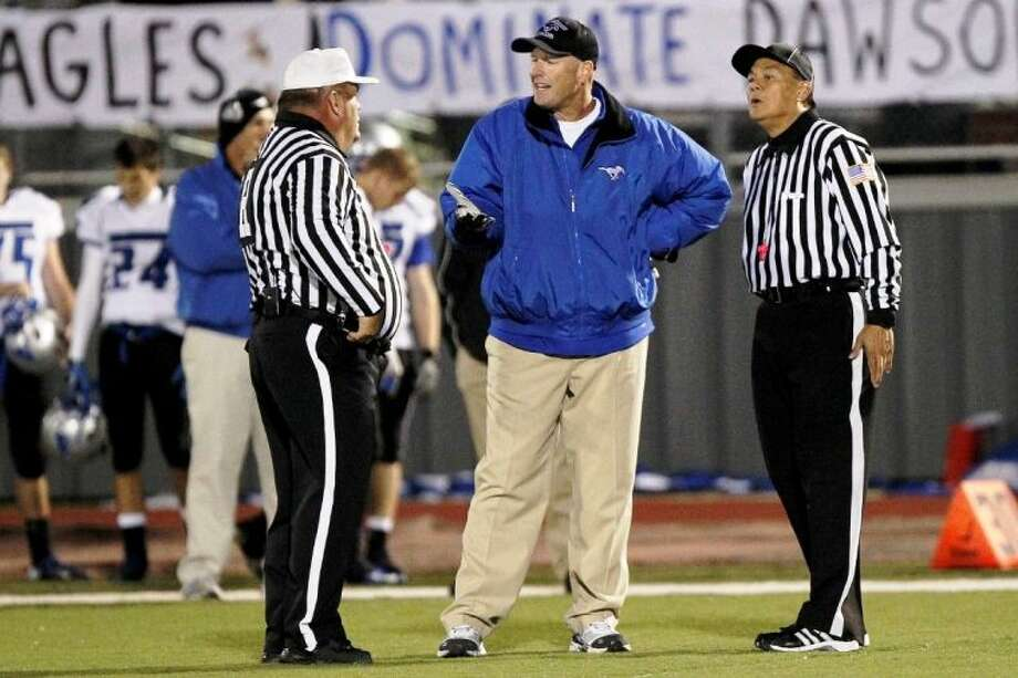 Friendswood head football coach Robert Koopmann says his team will have no problem in staying below the 90-minute contact limit per week recently approved by the UIL. Photo: KIRK SIDES