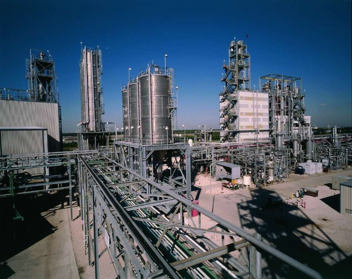 Polypropylene from LyondellBasell's Bayport plant in Pasadena is used by customers to make plastics and numerous other products. Houston-based engineering firm McDermott International landed contracts to help build three similar facilities in India.