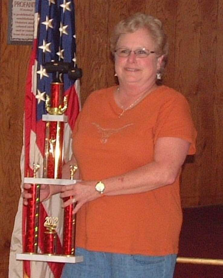 """Teresa Muniz was announced the """"Best Overall Cooker"""" on Saturday, March 17. VFW Post 1839 in North Cleveland held its annual Spring BBQ Cook-Off on March 16 and 17. Photo: Submitted Photo"""