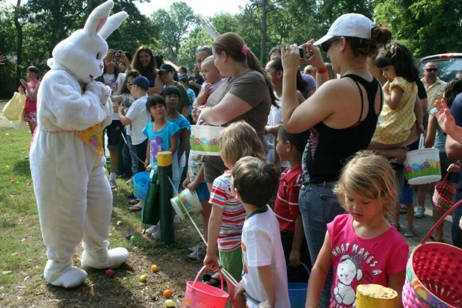 The Easter Bunny greeted the hundreds of kids who gathered at Old City Park in Cleveland last year to take part in Bunny Blast, an event sponsored by the Unity Committee. Local businesses and residents donated more than 12,000 eggs and dozens of prizes for the community Easter egg hunt.