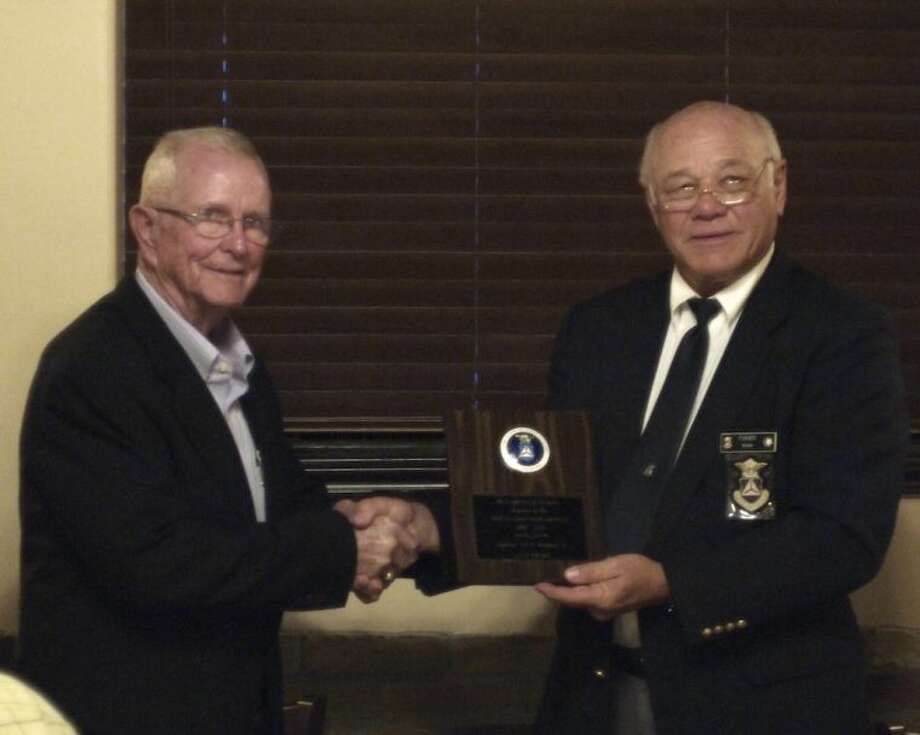 Capt. E. B. Neuman has served with the Civil Air Patrol since 1980. Photo: CASEY STINNETT