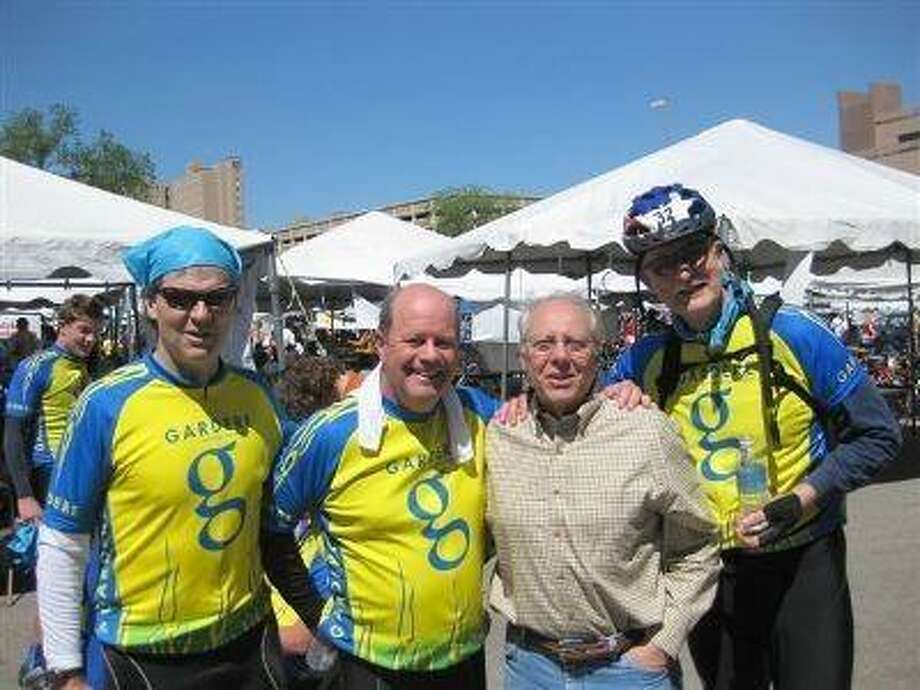 Ittner, right, with Greg Hambrick, John Putnam and Rob Donnell.