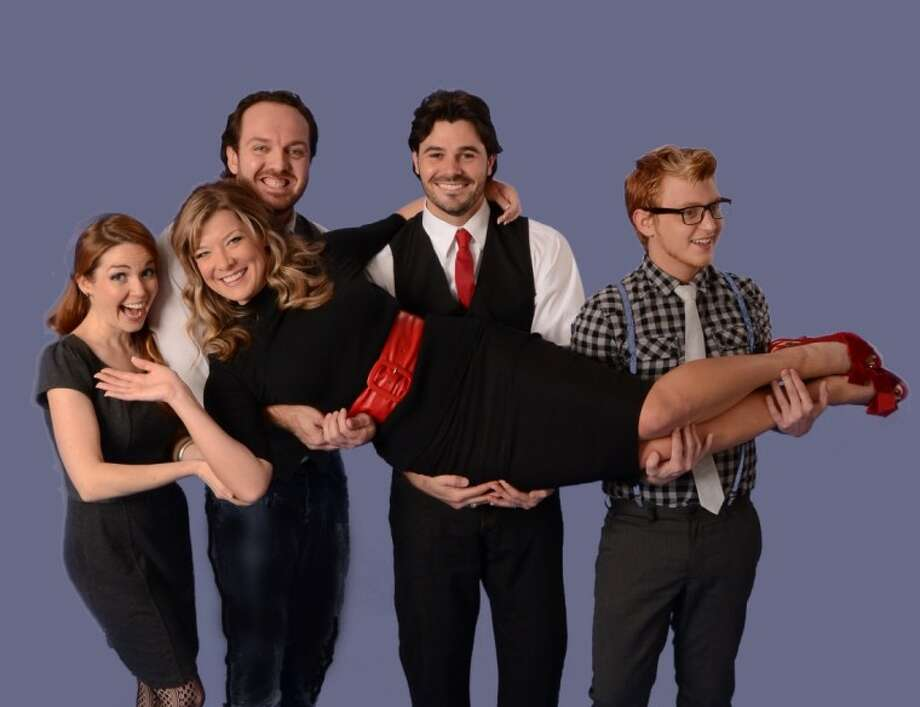 "Performers Rebekah Dahl, Brad Scarborough, Luke Wrobel, Cay Taylor and Colton Berry recently launched the Music Box Theatre with the first show ""Opening the Box."""