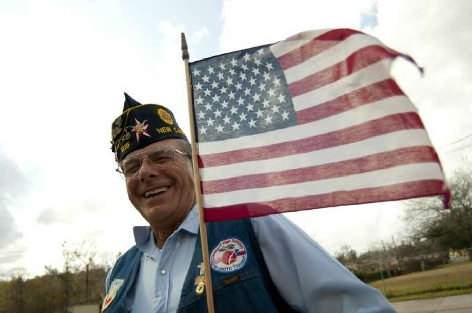Joe Piazza, a resident of Cleveland and a member of the New Caney American Legion Post, has made it his mission to educate people about flag etiquette.