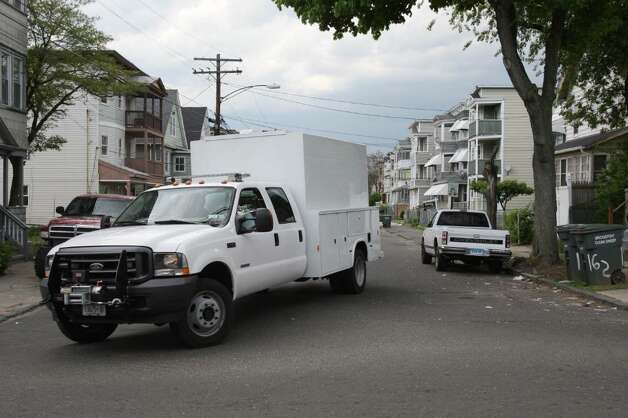 BRIDGEPORT, CT - MAY 4: FBI vehicle removes evidence after a search of a house where Faisal Shahzad allegedly lived, in connection with the botched Times Square bombing May 4, 2010 in Bridgeport, Connecticut. Shahzad, a suspect in this past weekend's failed car bomb plot in Times Square was taken into custody late Monday by FBI agents and New York Police Department detectives while trying to leave the country at John F. Kennedy Airport. (Photo by Daniel Barry/Getty Images) Photo: Daniel Barry, Getty Images / 2010 Getty Images