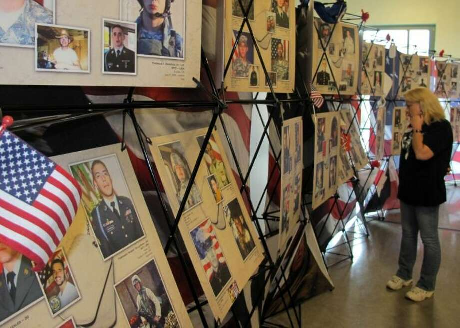 A new exhibit at the Texas State History Museum in Austin honors the almost 600 fallen Texans who were killed in the wars in Iraq and Afghanistan.