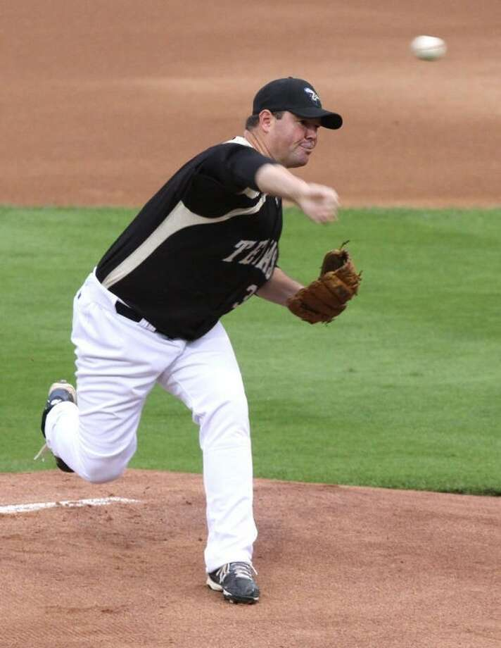 Matt Wright returns for his fourth season with the Sugar Land Skeeters. He has a 24-10 record for the Skeeters and is closing in on 1,500 strikeouts for his professional career. Photo: Alan Warren