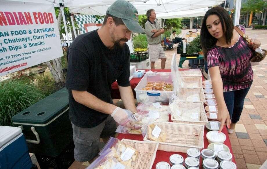 Indian Food Dallas Farmers Market