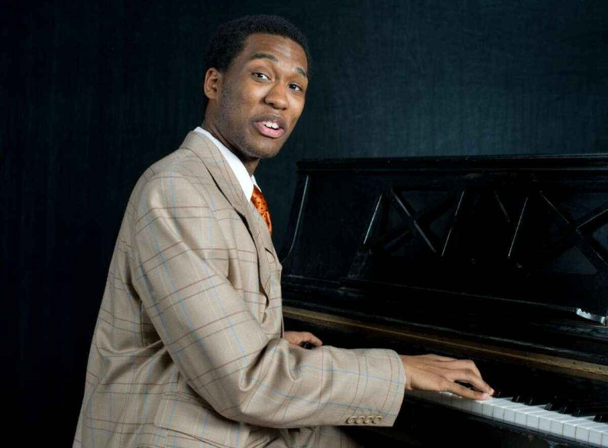 Dominique Watkins performs the character Coalhouse in HITS Theatre of Houston's production of the musical