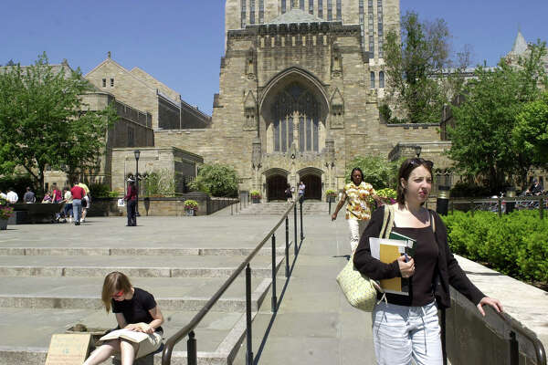 Students are pictured on the campus of Yale University in New Haven, Connecticut on Tuesday, June 10, 2003.Researchers from Yale's Child Study Center have just released a groundbreaking study on bias in preschool teachers.