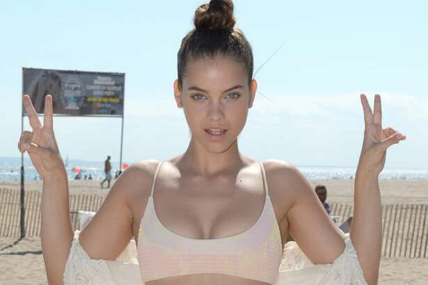 Barbara Palvin attends Sports Illustrated Swimsuit Summer of Swim Fan Festival and Concert at Coney Island Beach and Boardwalk on August 28, 2016 in Brooklyn, New York.  (Photo by Andrew Toth/Getty Images for Sports Illustrated)