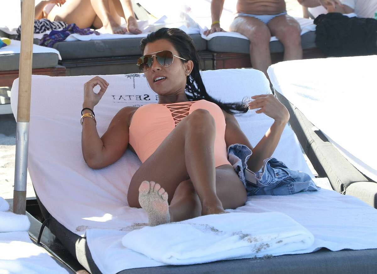 Kourtney Kardashian is sighted on Miami Beach on September 17, 2016 in Miami Beach, Florida. (Photo by Steven Gonzalez/GC Images)