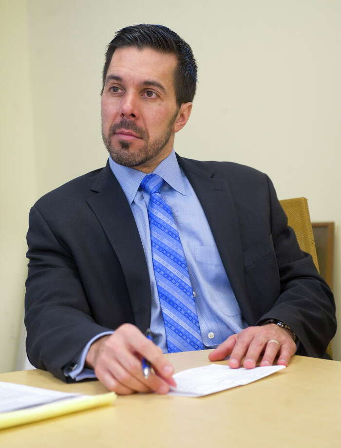 FILE — Michael Fernandes, Assistant Superintendent of Secondary Schools, on Tuesday, February 10, 2015. Photo: Lindsay Perry / Lindsay Perry / Stamford Advocate