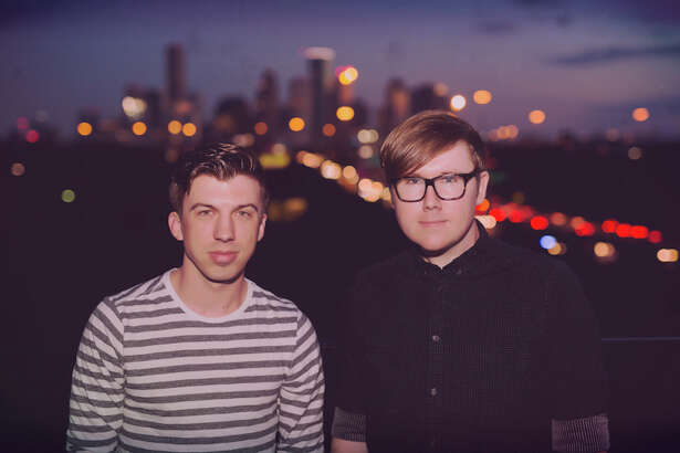 Houston indie-electronic duo Catch Fever perform Thursday at Warehouse Live.