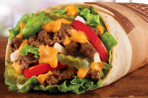 Burger King's Whopperrito is 60 calories less than a Whopper burger.