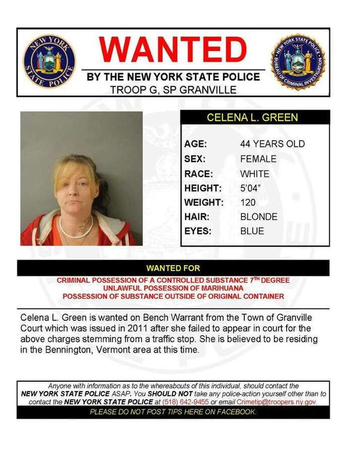 State Police on the lookout for woman wanted in Granville