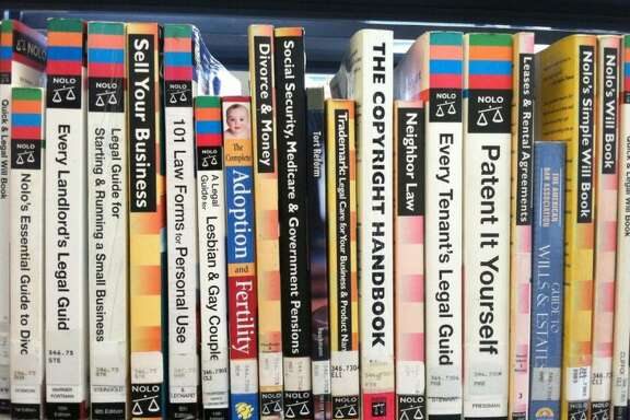 Self-help books are available at most public libraries, such as these found at the Liberty Municipal Library.