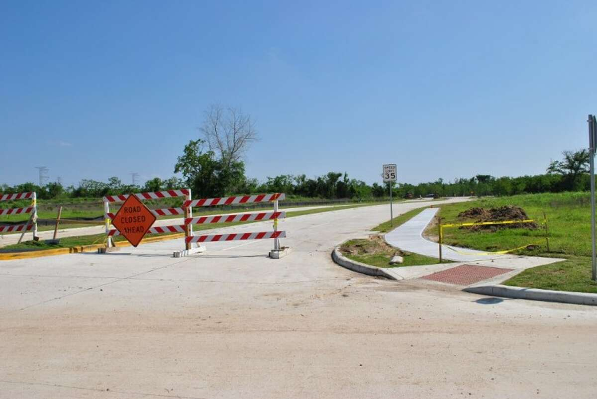 Lakeside Drive currently dead-ends shortly after Seabrook United Methodist Church. After its May 1 ribbon-cutting, Lakeside Drive will connect with Repsdorph Road via a traffic circle.