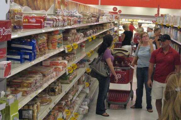 The Atascocita SuperTarget was full of customers Sept. 11 making sure to pick up the neccessary supplies in case Hurricane Ike causes damage when it makes landfall.