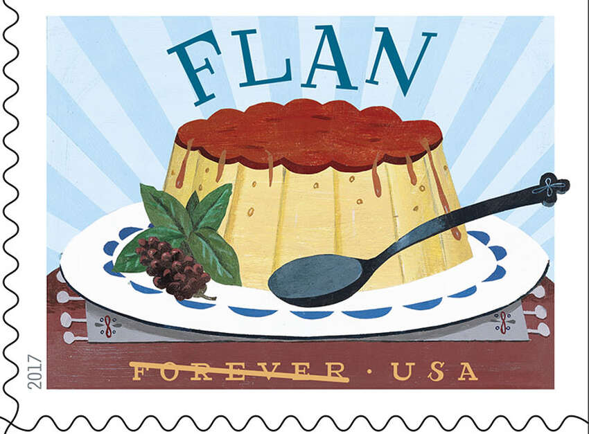 Favorite Latino comfort foods will go from the table to homes across America on parcels once the U.S. Postal Service releases the 2017 Stamp Program, which includes a 20-stamp booklet of designs that look good enough to eat.