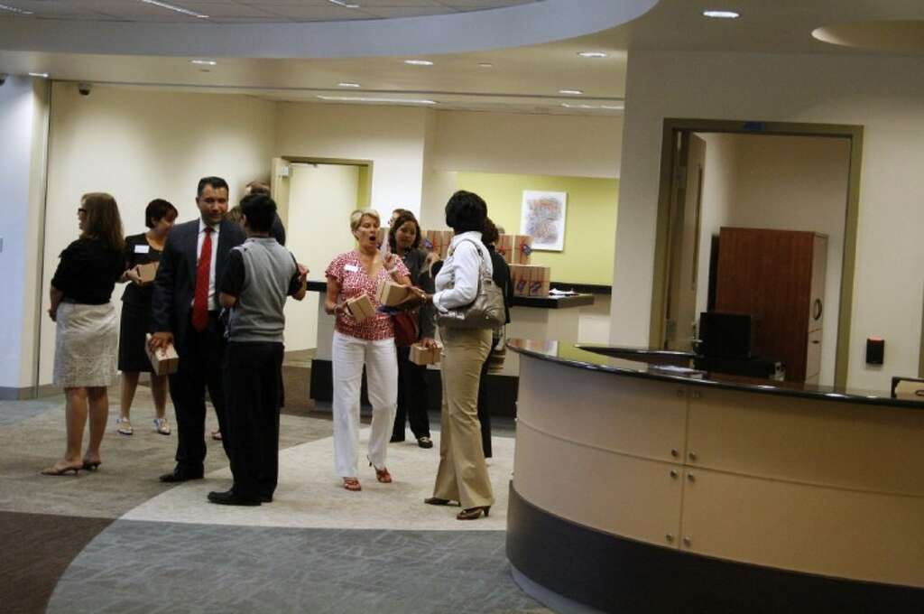 Community Representatives And Guests Got The Chance To Tour Through New LSC Atascocita Center