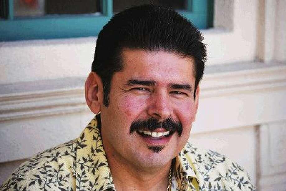 """Humble area resident and police veteran John """"JG"""" Garza announces his bid for Precinct 4 Constable in 2012."""