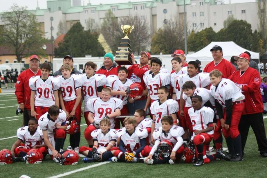 The Spring Branch Patriot All-Stars won the World Youth American Football Championship in Vienna, Austria, defeating the host Raiffeisen Vikings 35-8. Photo: Submitted Photo