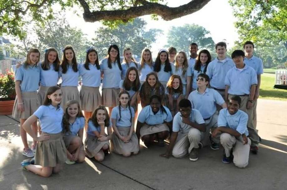SubmittedThe Presbyterian School Main Street Singers, a 7th and 8th grade student choir, sang the national anthem at the U.S. Men's Clay Court Championship on Thursday, April 11 at the River Oaks Country Club.