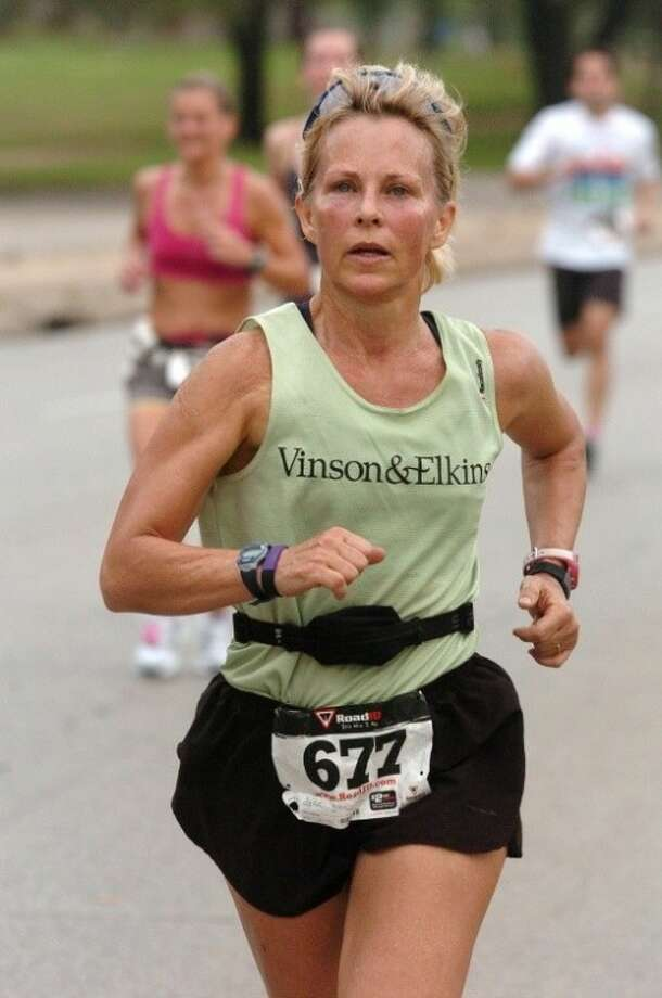 Friendswood's Kim Budzik finished the grueling 135-mile Badwater Ultramarathon, which starts in Death Valley, Calif., and ends at Mount Whitney. Budzik was one of only 30 women chosen to compete in the event. Photo: SUBMITTED PHOTO