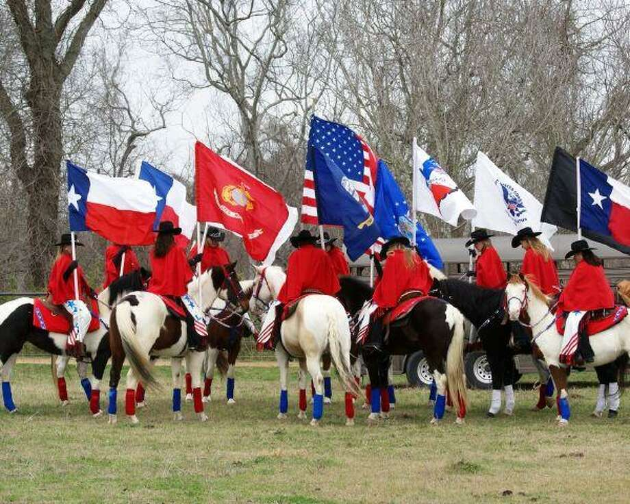 The Lone Star Cowgirls Riding Team of Montgomery County will hold a fundraiser to benefit Homes For Our Troops April 3 at the Tomball VFW.