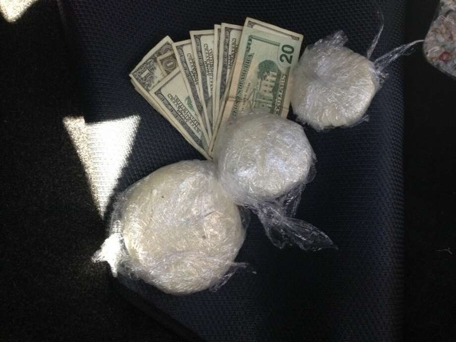 Montgomery County Sheriff's deputies found more than 400 grams of crack cocaine in a vehicle they stopped April 11.